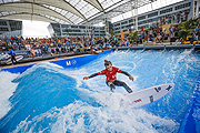 "Finale 5. European Championship in 'Stationary Wave Riding"" 2015am  Münchner Flughafen  (©Foto: (c)flohagena.com)"