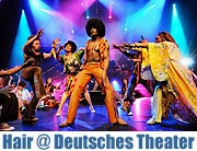 "27.03.-07.04.2012 im Deutschen Theater: ""Hair"" -  Das Love & Rock Musical"