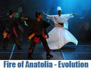 Fire of Anatolia: Evolution vom 12.-24.05. im Deutschen Theater (Foto: Ingrid Grossann)