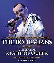 "A Spectacular ""Night of Queen"" performed by THE BOHEMIANS am 17.02.2013 in der Philharmonie im Gasteig"