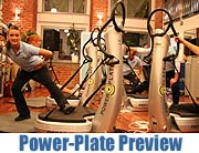 Power-Plate Preview Night in der Fitness Company Schwabing mit Pierre Geisensetter (Foto: MartiN Schmitz)