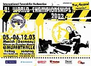 DJ World Championships 2003 @ Forum am Deutschen Museum @Muffathalle