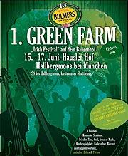 Green Farm Festival - Plakat