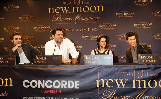 Pressekonferenz Twilight New Moon 14.11.2009 in München (©Foto: Concorde Filmm)