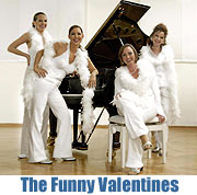 "The Funny Valentines ""A Swinging Christmas"" bei Heppel & Ettlich(©Foto: Veranstalter)"