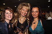Nadine Pioli (Live and Love), Sabina Kiss (Live and Love), Seher Citak (serum events & performances) (Foto: Martin Schmitz)