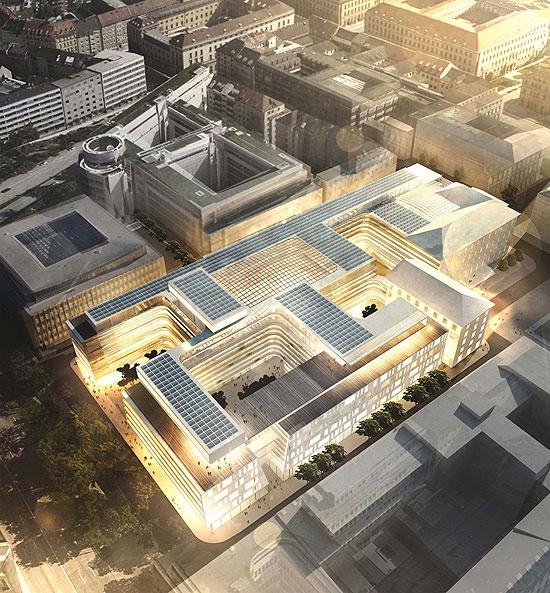Siemens Headquarter Architekturwettbewerb für die Siemens  ~ Staubsauger Zentrale München