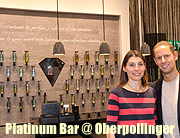 """Platinum Bar"" Exklusiv @ Oberpollinger Beauty Department, München. Weltpremiere am 07.07.2016  (©Foto: Martin Schmitz)"