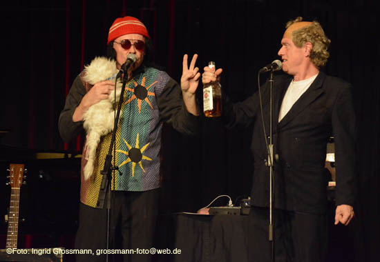 britischen Music Comedians Mark'n'Simon (©Foto. Ingrid Grossmann)