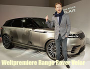 Weltpremiere Range Rover Velar in London mit Homeland Star Damian Lewis, Model Poppy Delevigne, Klaas Heufer-Umlauf, Lilly Sayn-Wittgenstein, Kostja Ullmann, Queen-Enkelin Zara Philipps am 01.03.2017 Foto: M.Nass / BrauerPhotos fuer Jaguar Land Rover