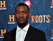 Hauptdarsteller Malachi Kirby beim HISTORY und Telekom Preview Screening der neuen Drama Serie 'Roots' im Gloria Palast München am 09.03.2017   (Photo by Joerg Koch/Getty Images für HISTORY Germany)
