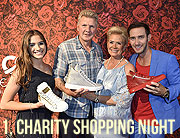 """1. Charity Shopping Night"" bei CE Design in München am 31. Mai 2017:  Sabine Brauer Photos für Marcel Remus Design"