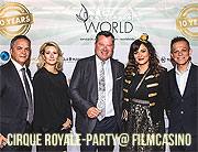 Cirque Royale-Party anlässlich des 10-jährigen Agenturjubiläums von Preferred World am 13. September 2017 im Filmcasino am Hofgarten in München  (©Foto: Preferred World GmbH)