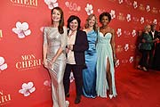 Sabrina Staubitz, Vera IntVeen, Nicole Noevers, Arabella Kiesbauer Mon Chéri Barbara Tag 2017 im Postpalast in München am 30.11.2017 Foto: BrauerPhotos / Select for Mon Cheri Barbara Tag