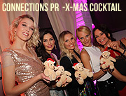 """Connections PR X-Mas Cocktail 2018"" Party mit VIP's im Weinkeller. Agentur-Weihnachtsparty am 10.12.2018 (©Foto:  Martin Schmitz)"