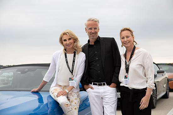 4. BMW Ladies Day 2019:Eva Lind, Bernd Döpke, Stephanie Kuffler (©Foto: BMW)