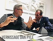 "Vernissage ""Dan Pyle Not Photographs Drawings""am 12.09.2019 in der Galerie Andreas Baumgartl"