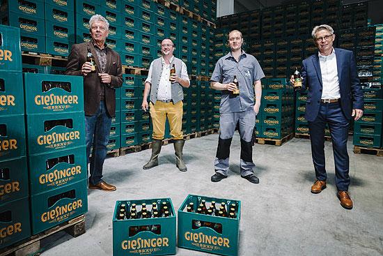 Meilenstein Fur Munchner Brauerei Giesinger Brau Eroffnet Werk2 In Milbertshofen Oberburgermeister Dieter Reiter Gast Beim 1 Offiziellen Sud 20 Millionen Euro Gesamtinvestment