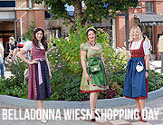 "Shopping statt schunkeln, Village statt Wiesn: Alexandra Polzin und Co.: VIP-Ladies beim ""Belladonna Wiesn Shopping Day"" in Tracht von Michaela Aschberger @ Ingolstadt Village  ©Photo: Jutta Sixt Fotografie"