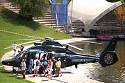 BGS Helikopter am Olympiasee