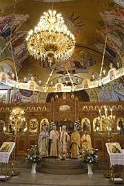 Osterfest der griechisch-orthodoxen Gemeinde in München 2017