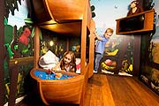 Kinderzimmer im Pirateninsel Hotel (©Foto: Legoland)