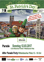 St. Patricks Day Parade am 12.03.2017