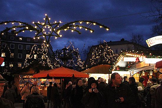 Haidhausen Weihnachtsmarkt.35 Haidhauser Weihnachtsmarkt 2010 Am Weissenburger Platz