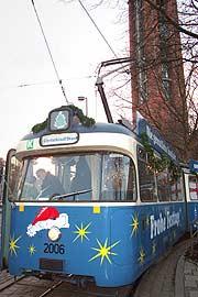 weihnachten in m nchen mit der christkindl trambahn durch. Black Bedroom Furniture Sets. Home Design Ideas