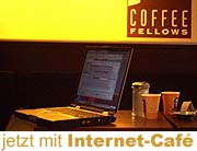 coffee fellows - jetzt mit Internet café (Foto: Marikka-Laila Maisel)