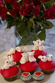 Wir Machen Cupcakes   Valtentine Special Mit Couples Of The Cake Törtchen  Und Story Of Love