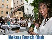 "Nektar - on location: Karibikfeeling mitten in München am Nektar Beach Club. Ab 20.05.2011 der ""place to be"" des Sommers (Foto: MartiN Schmitz)"