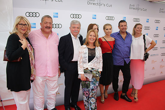 Red Carpet 11. Audi Director's Cup auf der Praterinsel am 24.06.2017 (©foto:Martin Schmitz)