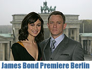 "Deutschlandpremiere des neuen James Bond ""Ein Quantum Trost"" am 3.11.2008 in Berlin (Foto: SonY Pictures)"