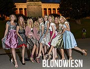 "Oktoberfest 2019: 8. ""Charity Blond Wiesn"" in der Käfer Wiesn Schänke mit Vorempfang im Hotel Roomers in München am 25. September ©Fotos: Goran Nitschke/Brauer Photos für Haarwerk"