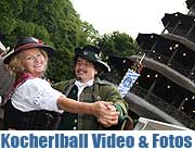 Kocherlball 2015 im Biergarten am Chinaturm 19.07. Bei uns gibt es Fotos & Video (©Foto:Marikka-Laila Maisel