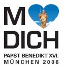 Munich loves you zum Benedikt Besuch