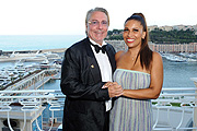 Patricia Blanco mit Freund Björn- Gunnar Lefnaer Sheba Medical Center Charity Gala im Hotel Hermitage in Monte Carlo / Monaco am 30.07.2015  Foto: BrauerPhotos © G.Nitschke