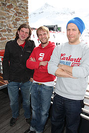 Sportfreunde Stiller live beim Easter Top of the Mointain Concert in Ischgl am 4.4.2010 (©Foto. Martin Schmitz)