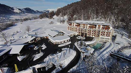 Golf & Spa Resort Grand Tirolia Kitzbühel im Winter (©Foto: Grand Tirolia Kitzbuehel)