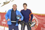 Philipp Fürst Hohenlohe, Erbgraf Ignaz zu Toerring Jettenbach  Fireball (James Bond Motto), Wochenende Ski and Fun,  Gala Dinner Siegerehrung Party im Hotel zur Tenne in Kitzbühel am 10.03.2018 Foto: BrauerPhotos / G.Nitschke