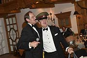 Gugu Graf von Tyszkiewicz und Jovi Graf von Schaesberg  Fireball (James Bond Motto), Wochenende Ski and Fun,  Gala Dinner Siegerehrung Party im Hotel zur Tenne in Kitzbühel am 10.03.2018 Foto: BrauerPhotos / G.Nitschke