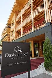 Das posthotel in zell a ziller tirol umwelt und for Design hotel zillertal