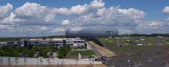 Allianz Arena Parkhaus