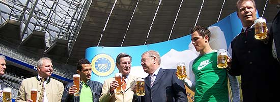 Allianz Arena Bier
