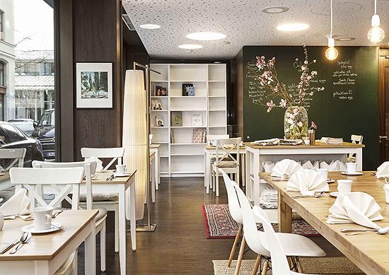 breakfast club am viktualienmarkt im derag livinghotel. Black Bedroom Furniture Sets. Home Design Ideas