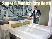 SUPER 8 Munich City North: Zweites SUPER 8 Hotel in Europa eröffnete am 05.10.2016 (gFoto:Martin Schmitz)