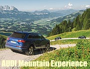 Audi Mountain Experience am 27. August 2016 in Kitzbühel.  ©Fotos: Danie Böswald