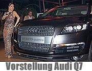 "Quattro Event - Der neue Audi Q7 ""Fine Art of Swing presented by MAHAG"" am 8.11.2005 (Foto: Martin Schmitz)"