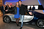 Sven Hannawald mit Freundin  Melissa Thiem Photo Gisela Schober/Getty Images für Bugatti